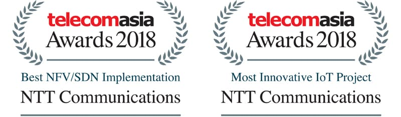 Press Releases June 27, 2018: NTT Communications wins Best NFV/SDN
