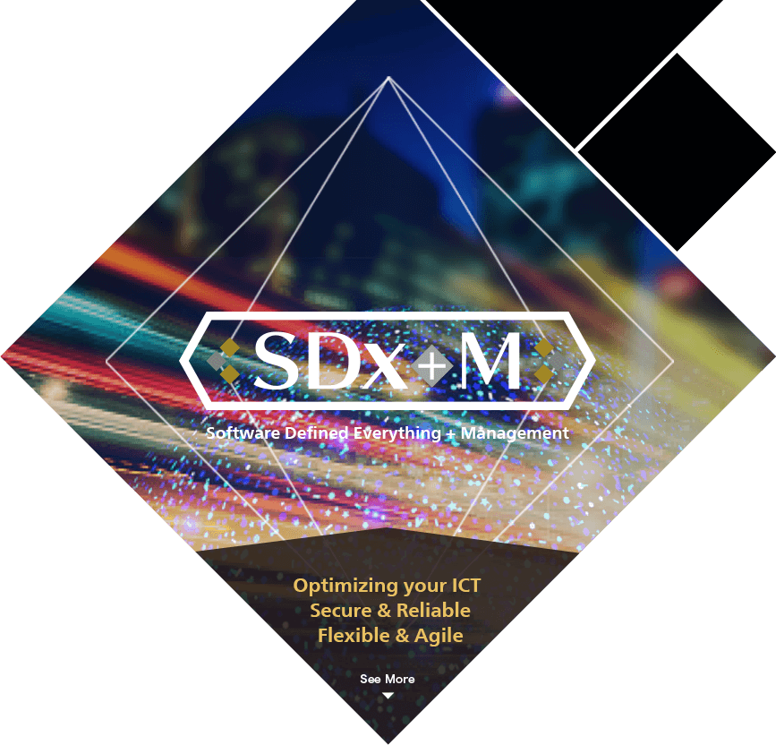 SDx+M (Software Defined Everything + Management)