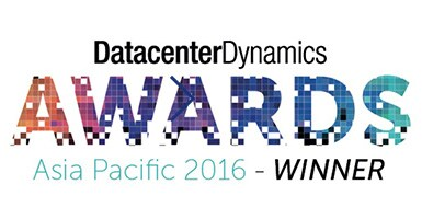 DatacenterDynamics AWARDS Asia Pacific 2016 WINNER