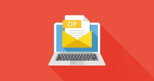 パスワード 付き zip ファイル
