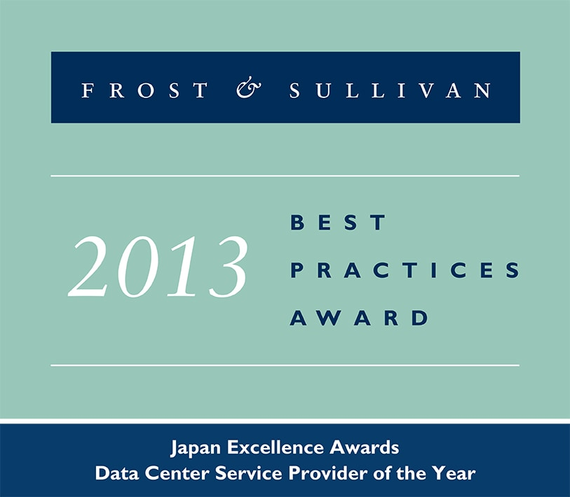 2013 Frost & Sullivan Japan Excellence Awards