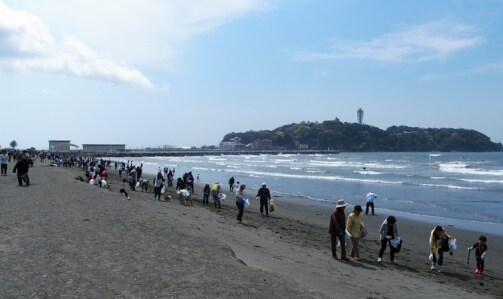 Coastal cleanup activities