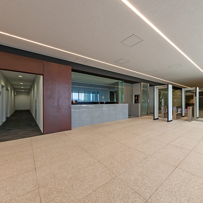 Takamatsu No.2 Data Center ENTRANCE LOBBY