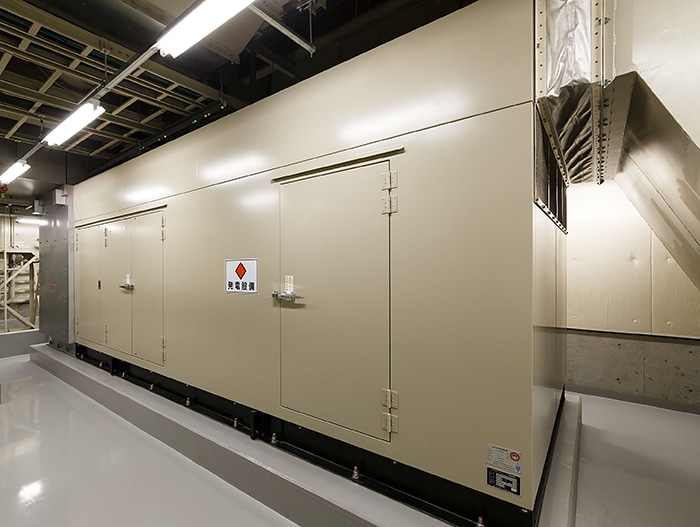 Takamatsu No.2 Data Center GENERATOR