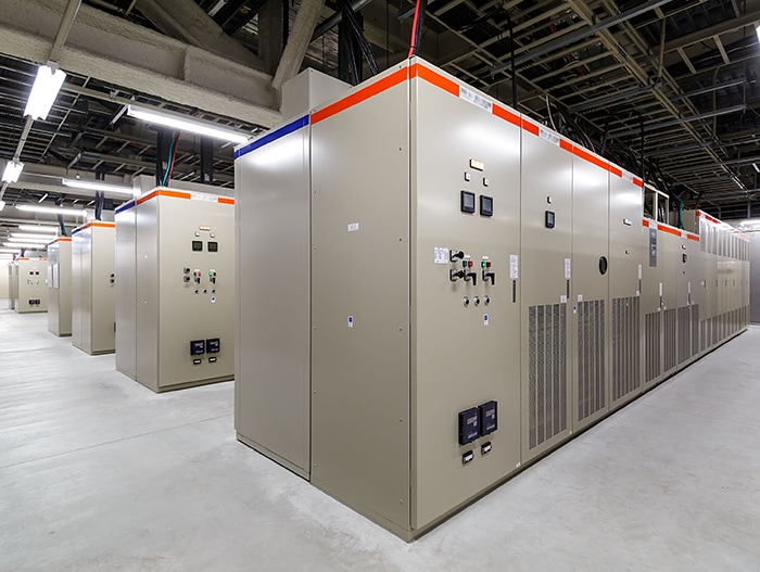 Takamatsu No.2 Data Center UPS ROOM