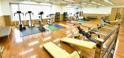 Tokyo No.9 Data Center FITNESS ROOM