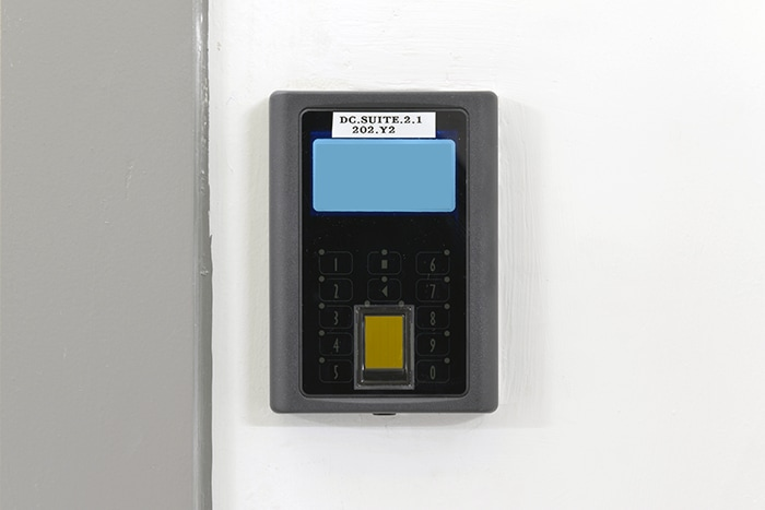 Malaysia Cyberjaya 4 Data Center FINGERPRINT AUTHENTICATION DEVICE