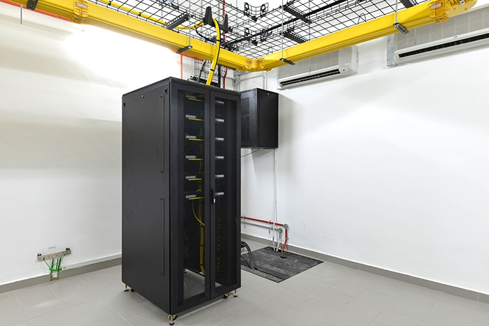 Malaysia Cyberjaya 4 Data Center TELECOMMUNICATION EQUIPMENT ROOM