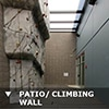 California Sacramento 3 (CA3) Data Center PATIO / CLIMBING WALL