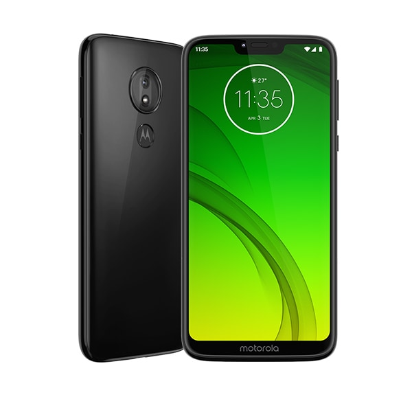 OCN モバイル ONE + moto g7 power